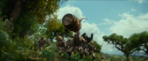 Okay, the Bombur barrel sequence made me giggle a little bit...