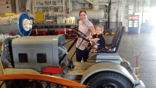 Tractorin it up with Aunt Natalie!